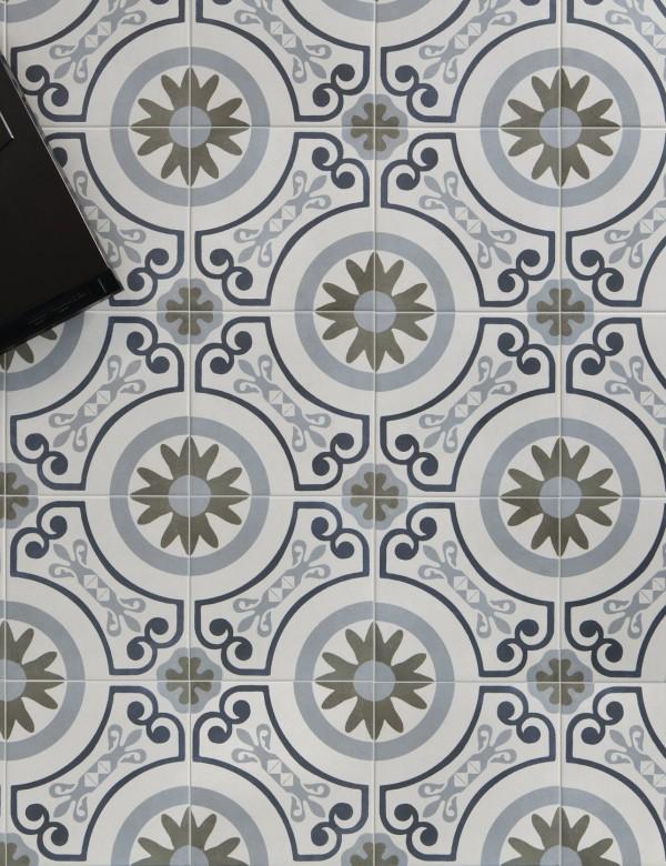 Płytka imitująca cement Peronda Havana Garden 22.3x22.3