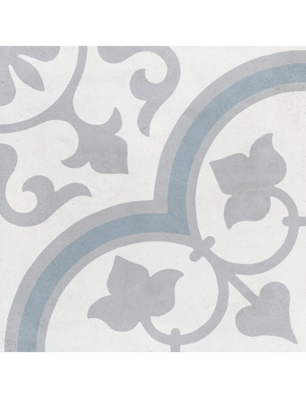 Silver Ornate 22.3x22.3