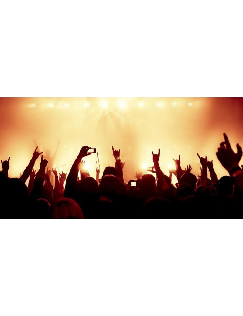 3 Nadruk na szkle Live Music 2:1