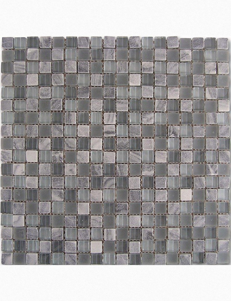 Mosaico grey-glass 29.3x29.3