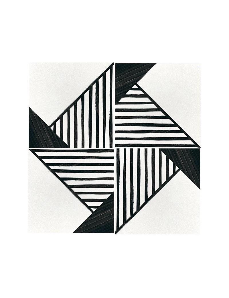 zobacz p ytki deco origami b w 20x20 od equipe. Black Bedroom Furniture Sets. Home Design Ideas
