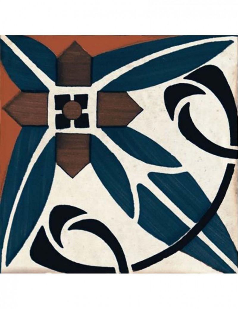 Płytka Bestile Deco Art Rojo 2 22.5x22.5