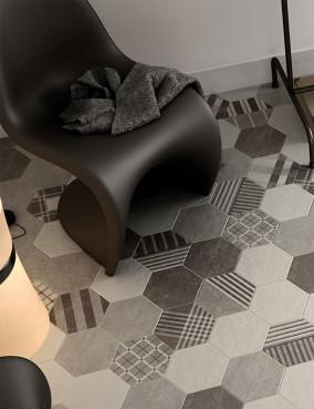 Hexatile Cement Geo 17,5x20