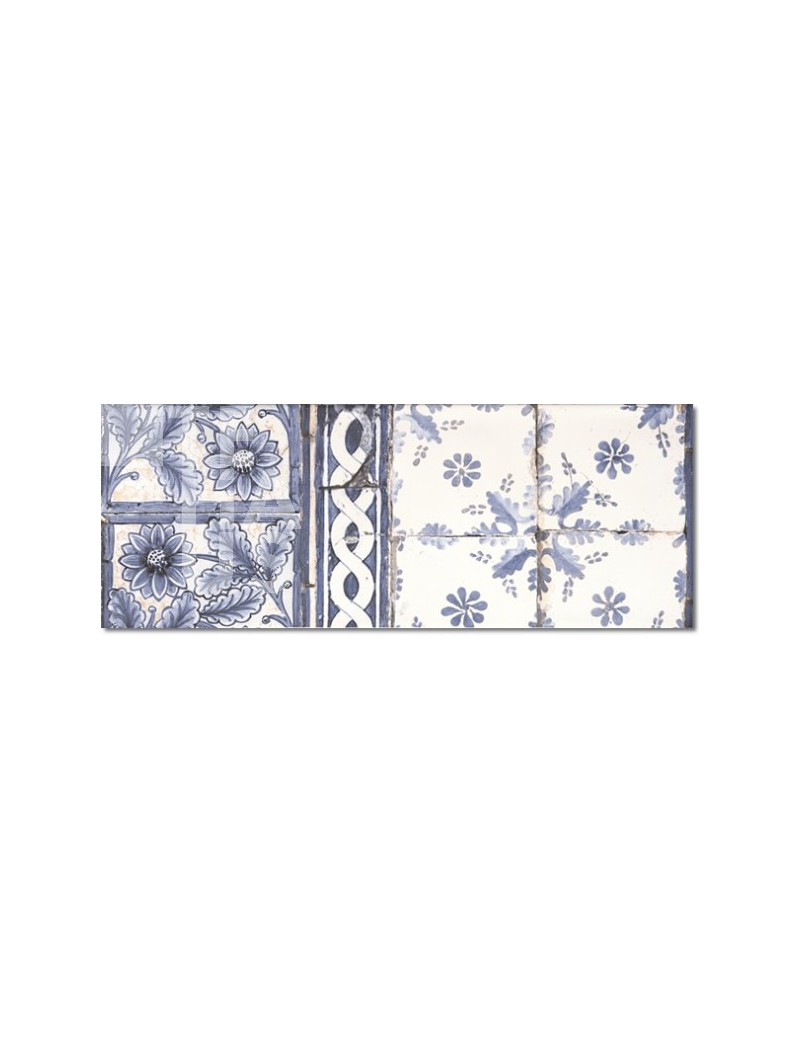 Płytka Zirconio Antique Med Blue 25x66.6