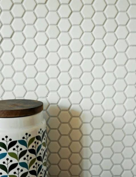 Hexagon gres mat mozaika 26x30
