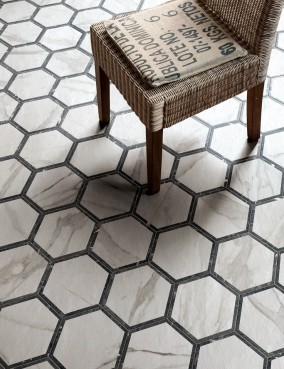 Hexagon marmur Deco 25x21.6