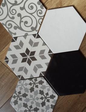 Hexatile mat 17,5x20
