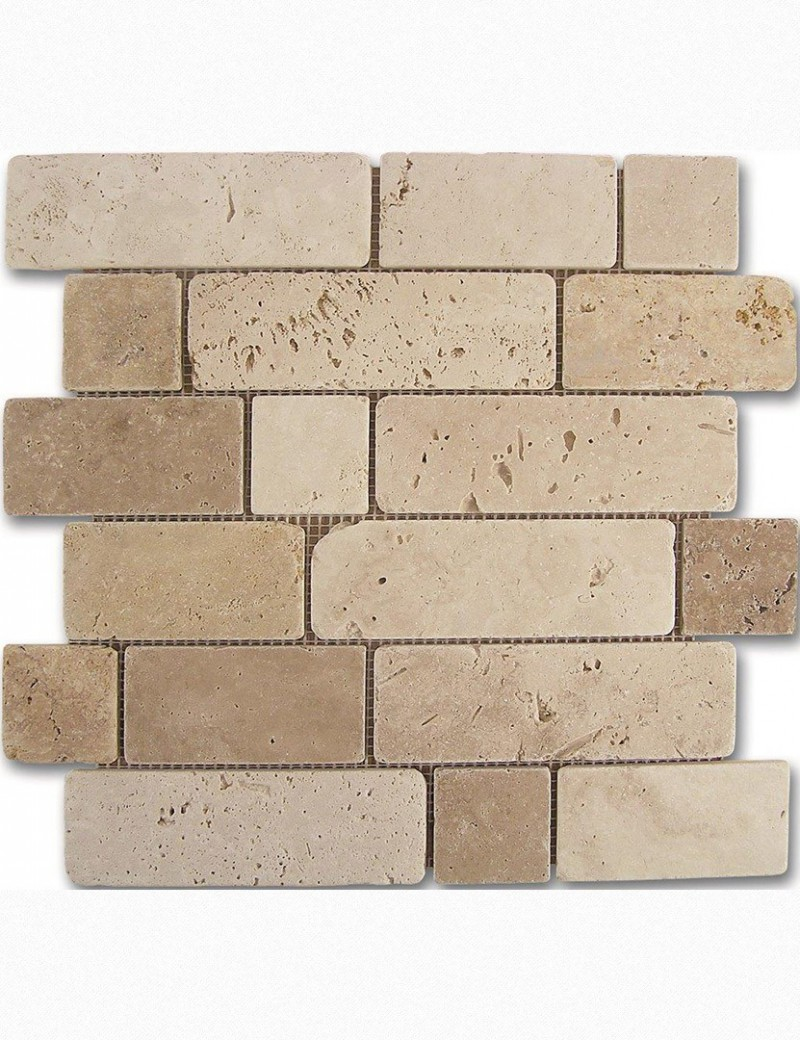 Travertino brick 30.5x30.5